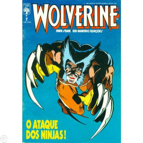 Wolverine [Abril - Minissérie] nº 002 jul/1987