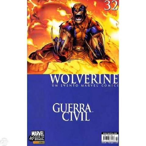 Wolverine [Panini - 1ª série] nº 032 jul/2007 - Guerra Civil