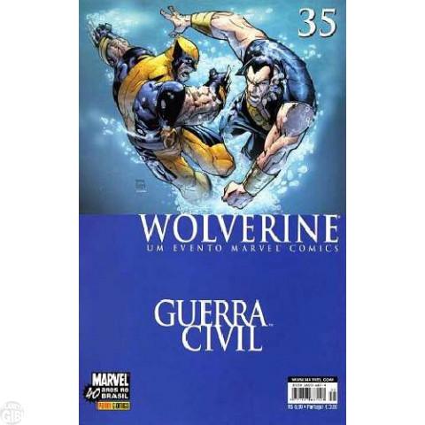 Wolverine [Panini - 1ª série] nº 035 out/2007 - Guerra Civil