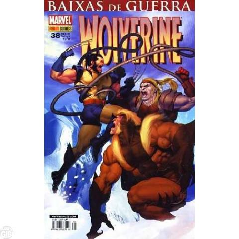 Wolverine [Panini - 1ª série] nº 038 jan/2008 - Baixas de Guerra