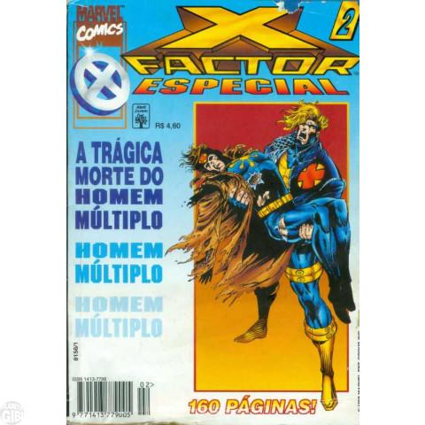 X-Factor Especial [Abril] nº 002 out/1996 A Trágica Morte do Homem Múltiplo [Leia Detalhes Abaixo]