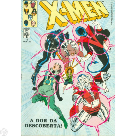 X-Men [Abril - 1ª série] nº 012 out/1989