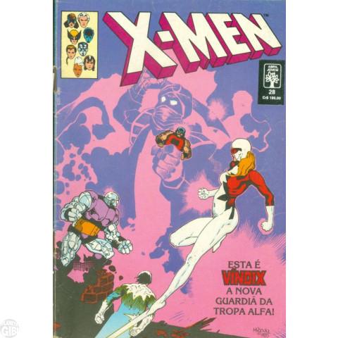 X-Men [Abril - 1ª série] nº 028 fev/1991