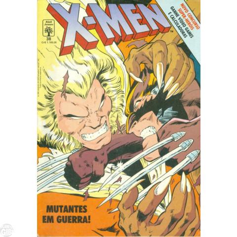 X-Men [Abril - 1ª série] nº 038 dez/1991