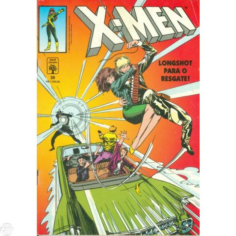 X-Men [Abril - 1ª série] nº 039 jan/1992