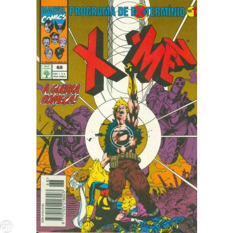 X-Men [Abril - 1ª série] nº 068 jun/1994