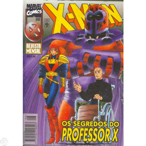 X-Men [Abril - 1ª série] nº 096 out/1996 - Leia os detalhes abaixo