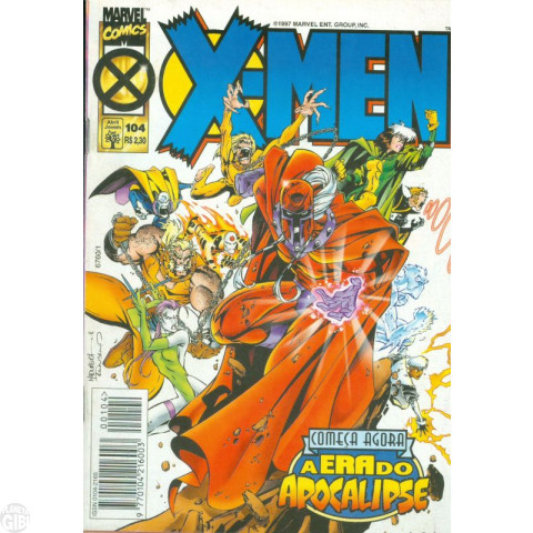 X-Men [Abril - 1ª série] nº 104 jun/1997