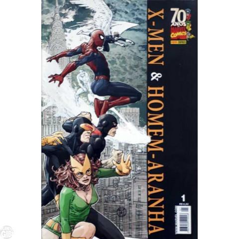 X-Men e Homem-Aranha [Panini - Minissérie] nº 001 e nº 002 ago-set/2009 - Minissérie Completa