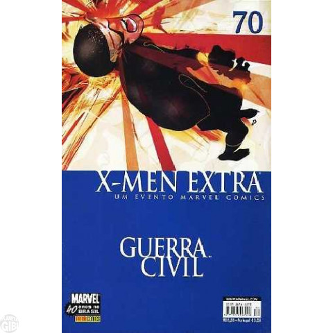 X-Men Extra [Panini - 1ª série] nº 070 out/2007 - Guerra Civil