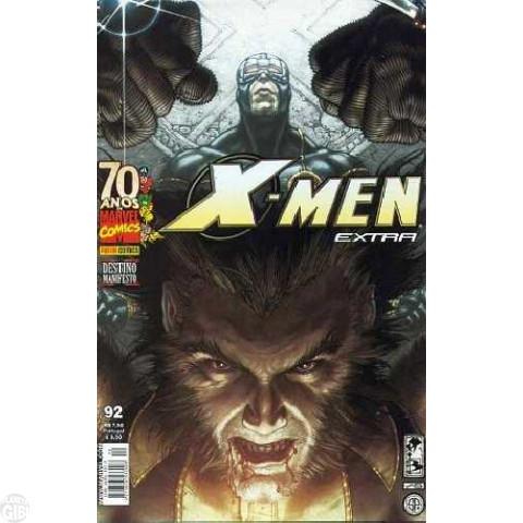 X-Men Extra [Panini - 1ª série] nº 092 ago/2009