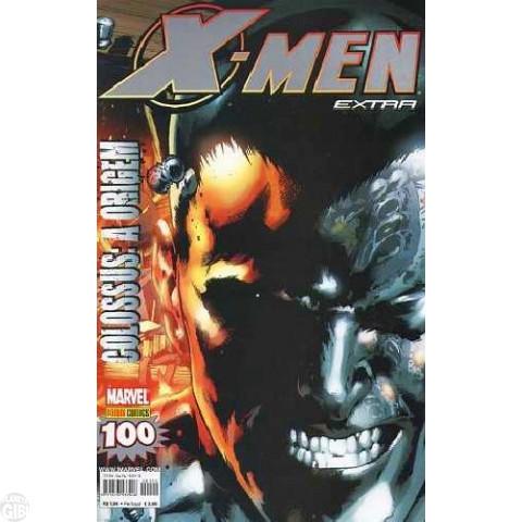 X-Men Extra [Panini - 1ª série] nº 100 abr/2010 - Colossus A Origem - com brinde original Pôster