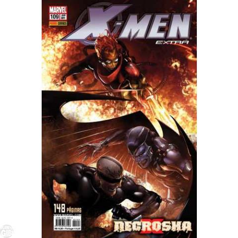 X-Men Extra [Panini - 1ª série] nº 109 jan/2011 - Necrosha