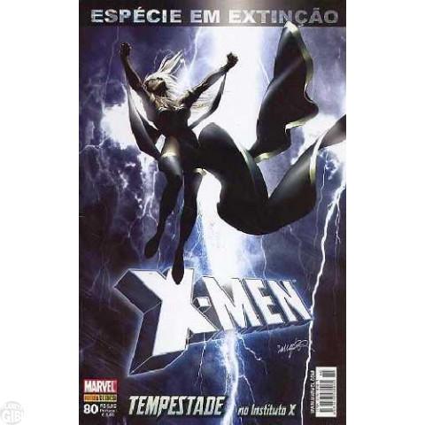 X-Men [Panini - 1ª série] nº 080 ago/2008 - Espécie em Extinção