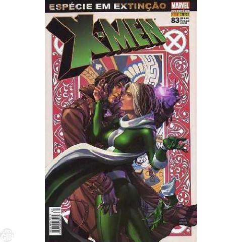 X-Men [Panini - 1ª série] nº 083 nov/2008 - Espécie em Extinção