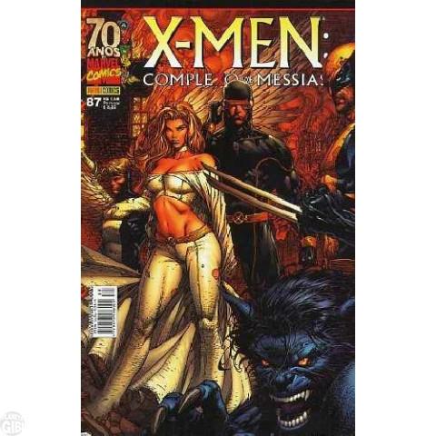 X-Men [Panini - 1ª série] nº 087 mar/2009 - Complexo de Messias