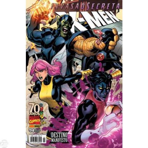 X-Men [Panini - 1ª série] nº 094 out/2009 - Invasão Secreta