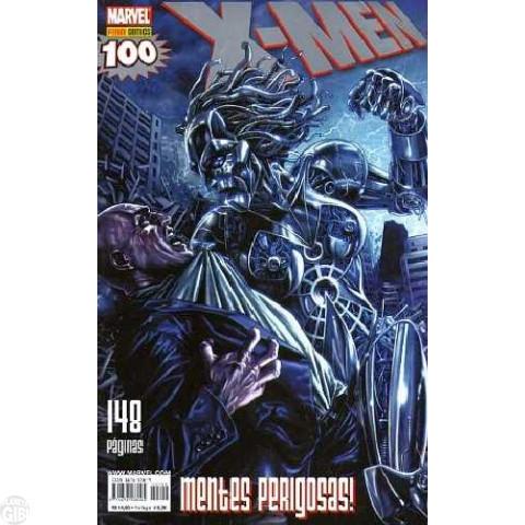 X-Men [Panini - 1ª série] nº 100 abr/2010 - com brinde original Pôster