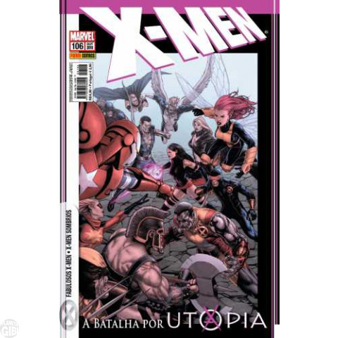 X-Men [Panini - 1ª série] nº 106 out/2010 - Utopia