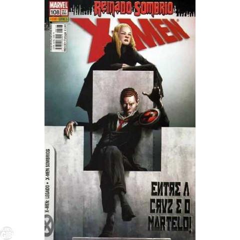 X-Men [Panini - 1ª série] nº 108 dez/2010 - Reinado Sombrio