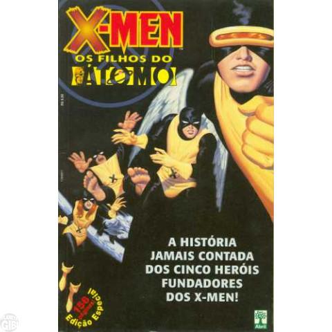 X-Men Os Filhos do Átomo out/2001