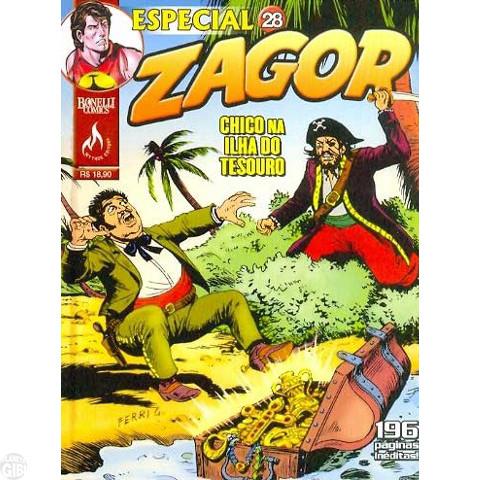 Zagor Especial nº 028 jun/10 - Chico na Ilha do Tesouro