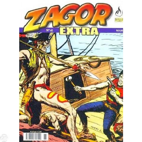Zagor Extra - Mythos - nº 061 abr/09 - As Feras do Rio Negro