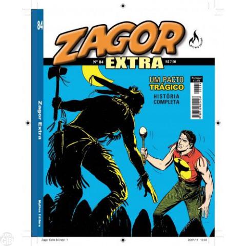 Zagor Extra - Mythos - nº 084 fev/11