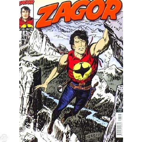 Zagor [Mythos] nº 129 dez/2011 - A Morte Suspensa
