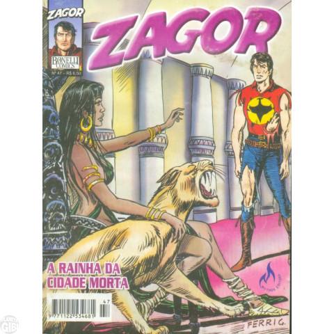 Zagor [Mythos] nº 047 jan/2005 - A Rainha da Cidade Morta