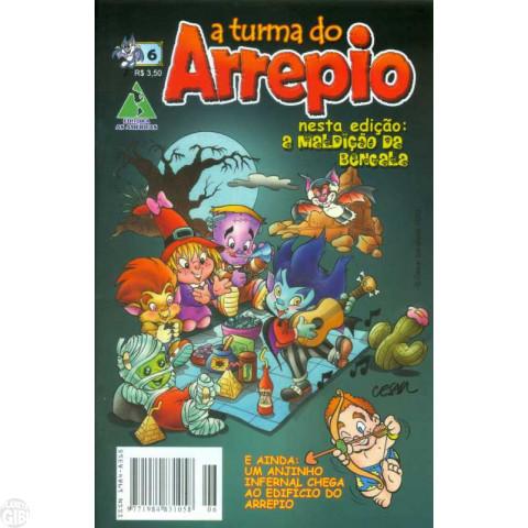 A Turma do Arrepio [Ed. As Américas] nº 006 abr/2010 Até 25/05/2019