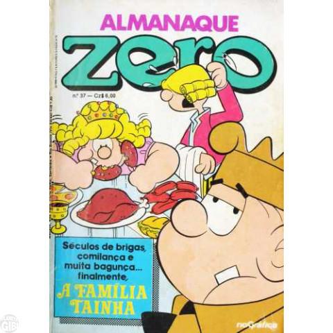 Almanaque do Zero [RGE - 2ª série]  nº 037 jul/1986 - ATÉ 22/02/2019