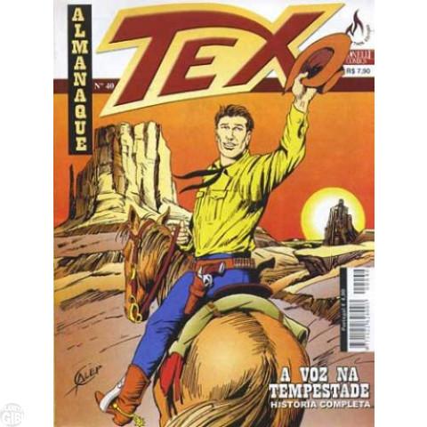Almanaque Tex nº 040 set/2010 - A Voz da Tempestade Até 17/06/2019