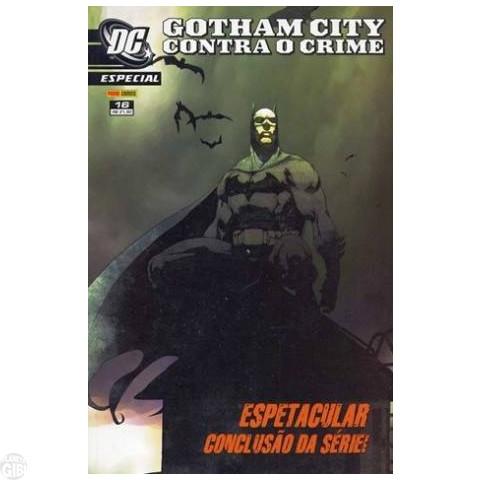 DC Especial [Panini - 1ª série] nº 016 dez/2007 - Gotham City Contra o Crime: Até 25/05/2019