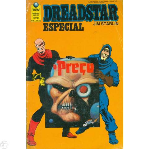 Graphic Globo nº 010 fev/1992 - Dreadstar Especial: O Preço Até 28/03/2019