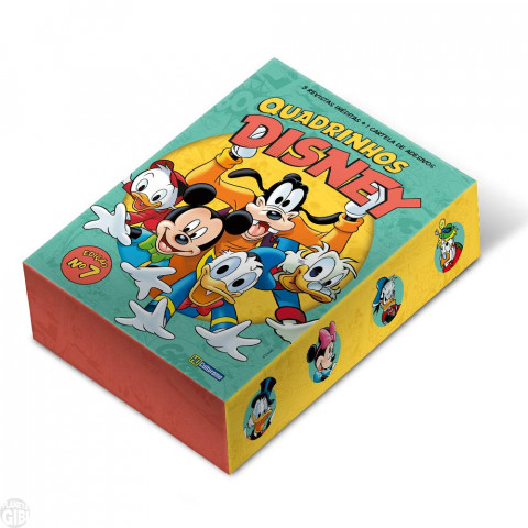 Kit Disney Culturama 007 out/2019 As 5 Mensais + Caixa + Adesivos