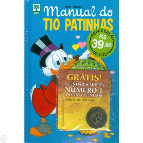 Manual do Tio Patinhas [Fac-Símiles nº 4] out/2016 - Lacrado com 1 Moeda Metálica - ATÉ 22/02/2019