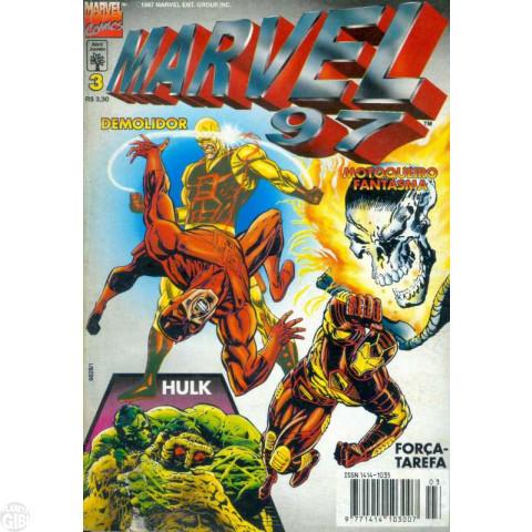 Marvel 1997 [Abril] nº 003 mai/1997 Até 22/07/2019