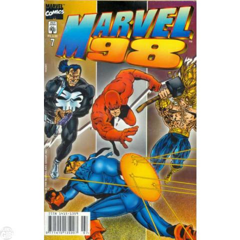 Marvel 1998 [Abril] nº 007 jul/1998 Até 16/07/2019