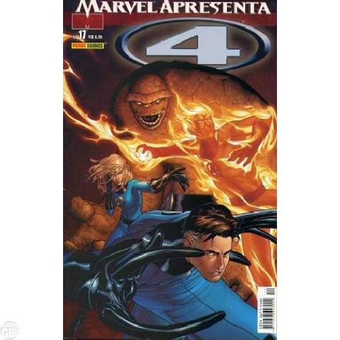 Marvel Apresenta [Panini - 1ª série] nº 017 abr/2005 - 4 (1) Até 24/04201