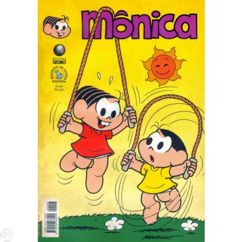 Mônica [2ª série - Globo] nº 206 ago/2003 Até 14/10/2019