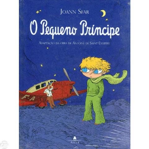 O Pequeno Príncipe  dez/2008 - Quadrinhos por Joann Sfar - Capa Dura Até 22/08/2019