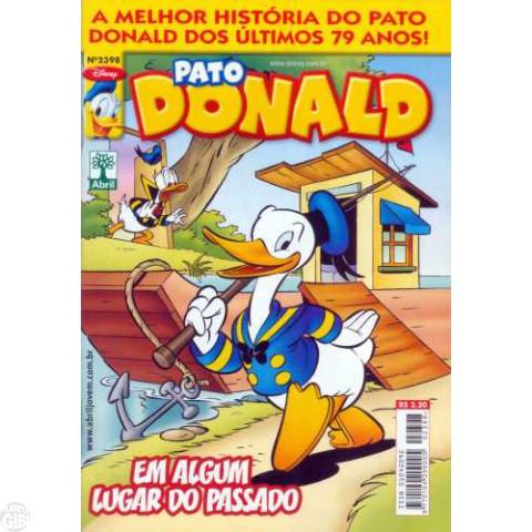 Pato Donald nº 2398 set/2011 - A Melhor História do Pato Donald dos Últimos 79 Anos - Edição Reimpressa em 2013