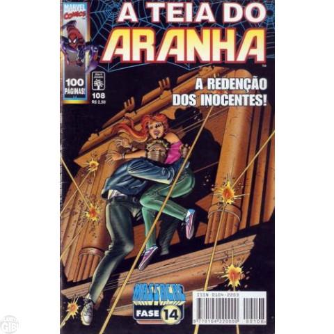 Teia do Aranha [Abril - 1ª série] nº 108 out/1998 Até 13/12/2019