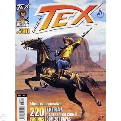 Tex Coleção nº 200 set/03 - Caderno Com 201 Capas - PROMOÇÃO VÁLIDA ATÉ 19/02/2019