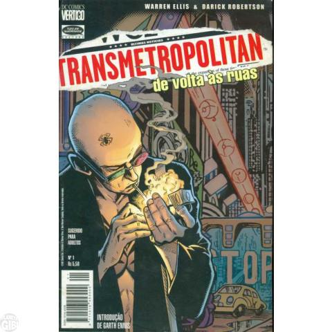 Transmetropolitan [Tudo em Quadrinhos] nº 001 mar/1999 - De Volta às Ruas - PROMOÇÃO VÁLIDA ATÉ 16/02/2019