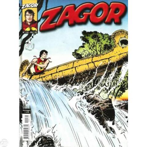 Zagor [Mythos] nº 132 mar/2012 - O Preço da Traição Até 21/08/2019