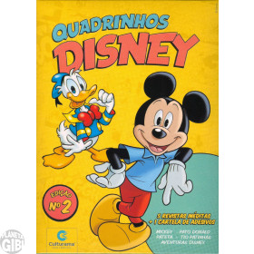 Kit Disney Culturama 002 mai/2019 As 5 Mensais + Caixa + Adesivos