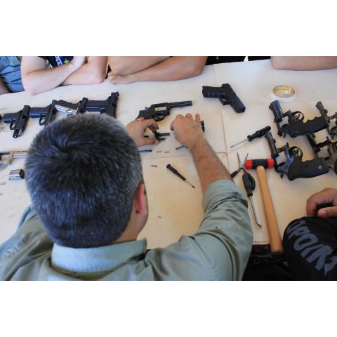 Curso de Formação de Armeiro - Manutenção de Armas - Módulo I