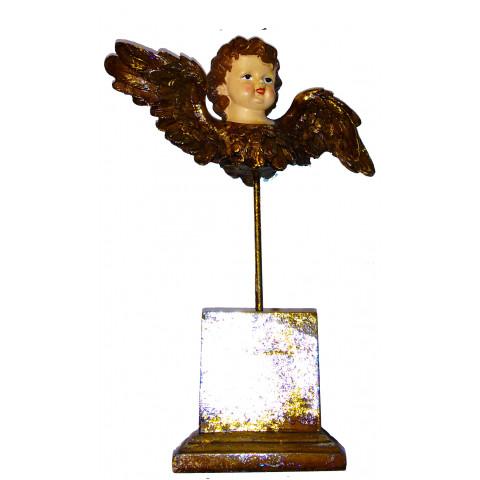 Rosto de Anjo Pedestal 30cm